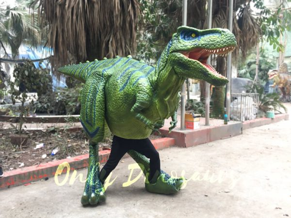 Dinosaur-Realistic-Costume-Of-Green-T-Rex777