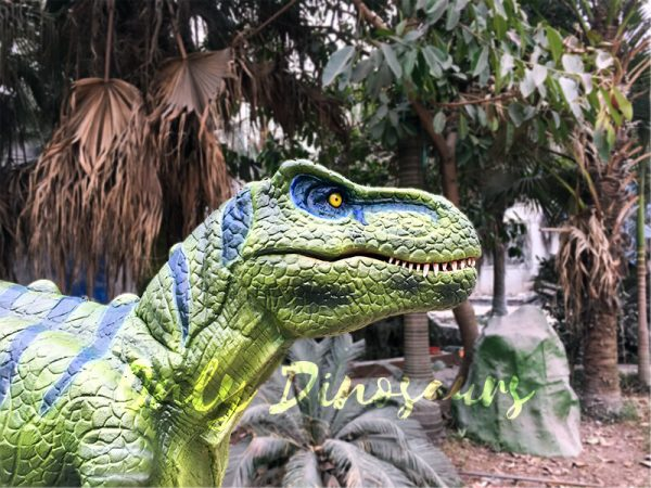 Dinosaur Realistic Costume of Green T rex1
