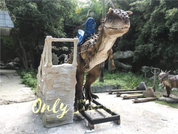 Electric Dinosaur Ride Big Carrotaurus4