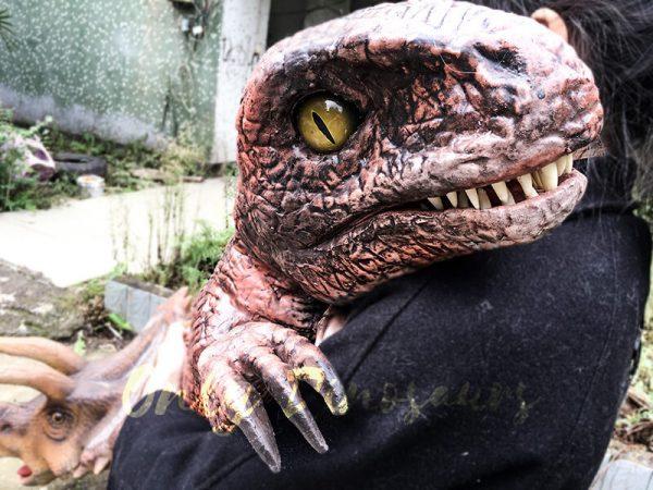 Fierce Raptor Hand Puppet Reality Jurassic World2