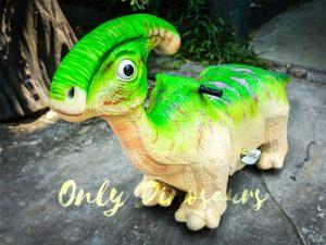 Green Parasaurolohus Cute Dinosaur Rides