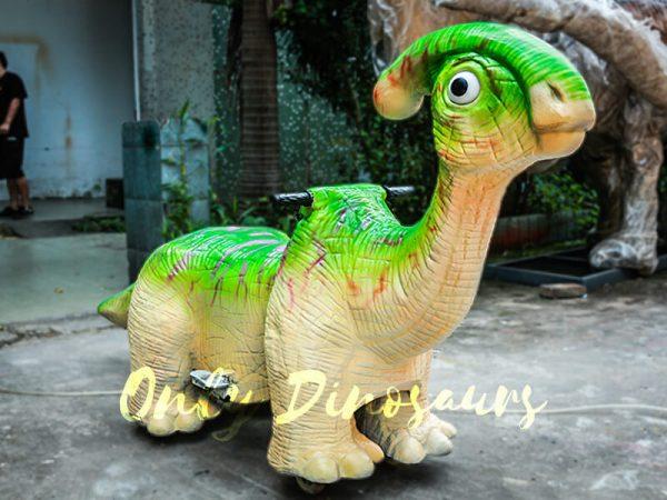 Green Parasaurolohus Cute Dinosaur Rides2
