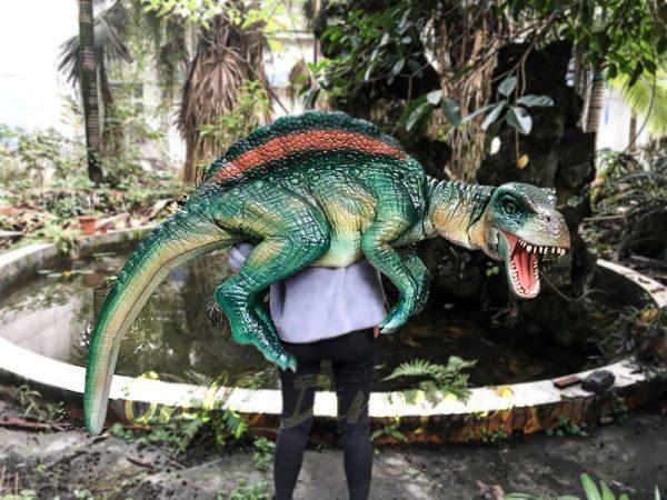 Impressive Spinosaurus Shoulder Puppet Vivid Green1