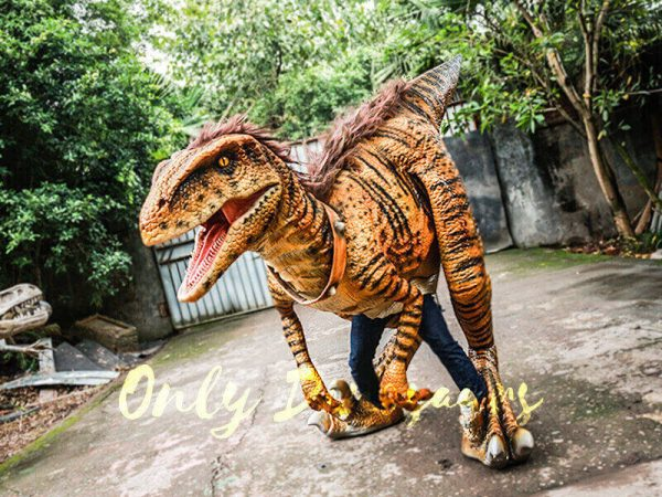 Jurassic Park Dino Costume Hairy Raptor1