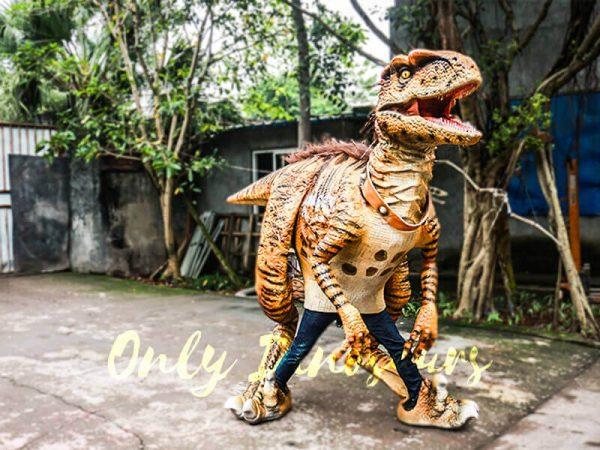 Jurassic Park Dino Costume Hairy Raptor4