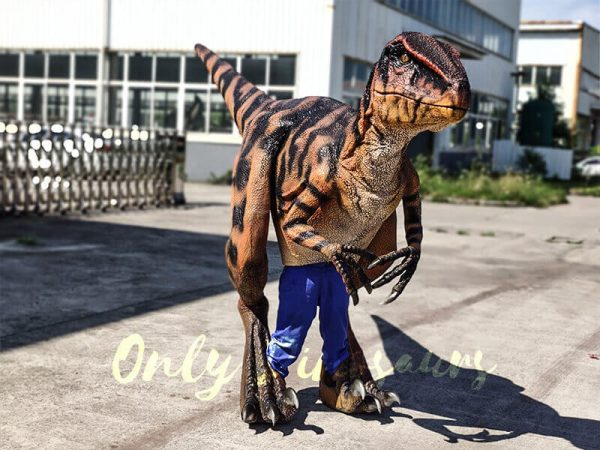 Jurassic Park Raptor Costume for Actor1