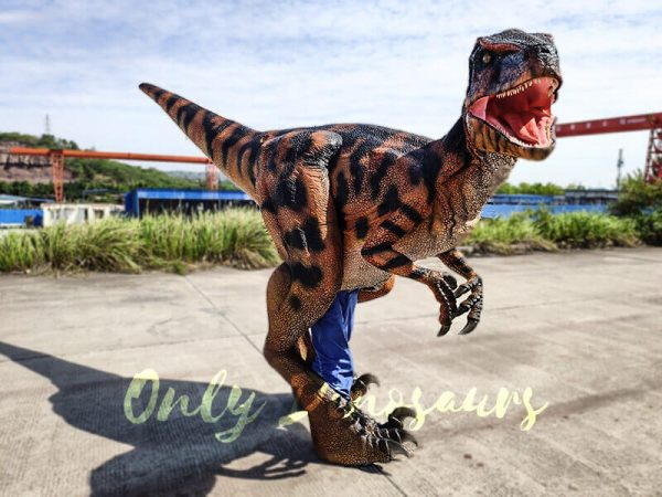 Jurassic Park Raptor Costume for Actor4