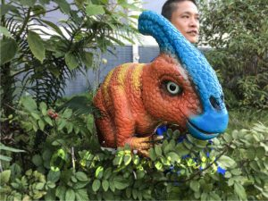 Life size Parasaurolophus Puppets for Baby