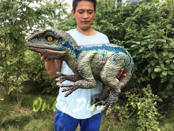 Little Velociraptor Puppet for Baby Entertainment1
