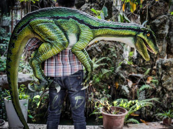 Living Puppet Raptor in Vivid Green2