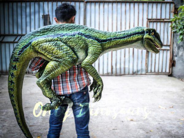 Living Puppet Raptor in Vivid Green3