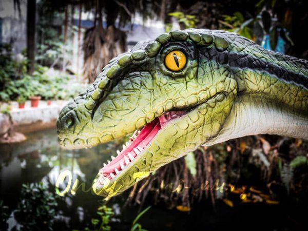 Living Puppet Raptor in Vivid Green4