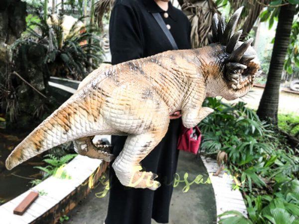 Lovely Stygimoloch Realistic Puppet Baby Dinosaur3