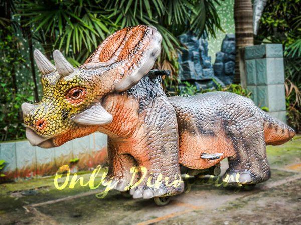 Motorized Dinosaur Rides for Amusement Playground1