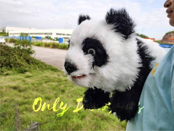 Panda Baby Hand Puppet for Kids5