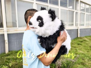 Panda Baby Hand Puppet for Kids