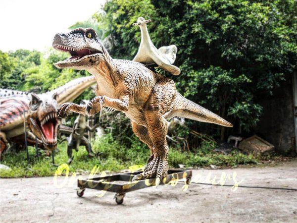 Playskool Ride on Dinosaur Velociraptor3