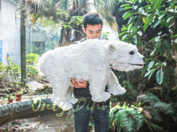 Polar Bear Baby Puppet for kids1