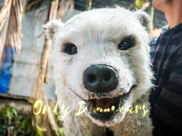 Polar Bear Baby Puppet for kids3