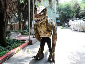 Professional T-Rex Walking Costume Visible legs