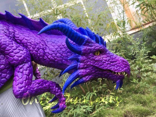 Purple-Shoulder-Dragon-Puppet-Of-Wizard2-2