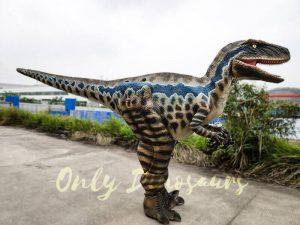 Realistic Animatronic Costume Jurassic Raptor
