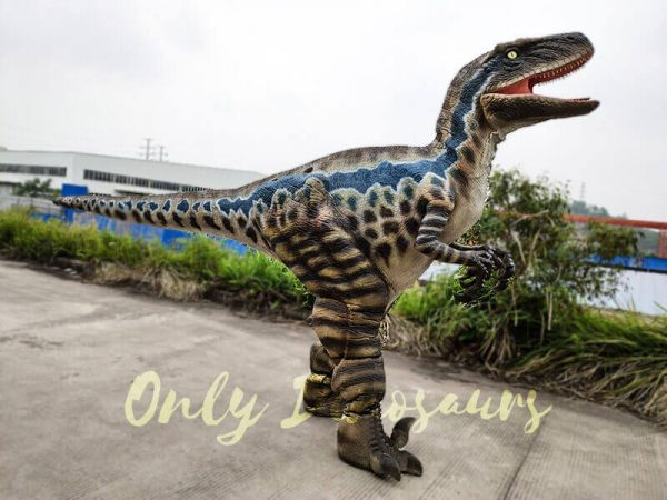 Realistic Animatronic Costume Jurassic Raptor2