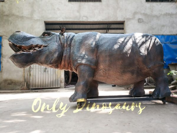 Realistic Animatronic Hippo for Museum3