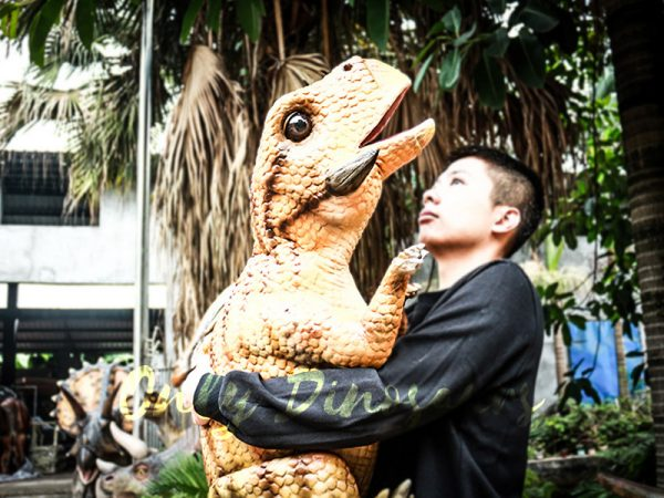 Realistic Baby Dinosaur Puppet Psittacosaurus2