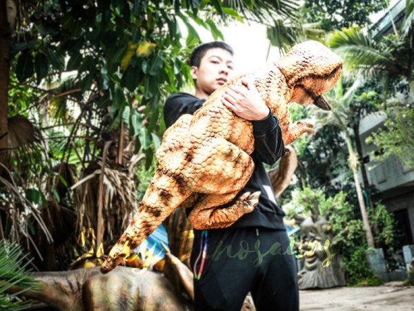 Realistic Baby Dinosaur Puppet Psittacosaurus4