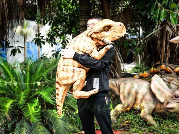 Realistic Baby Dinosaur Puppet Psittacosaurus5