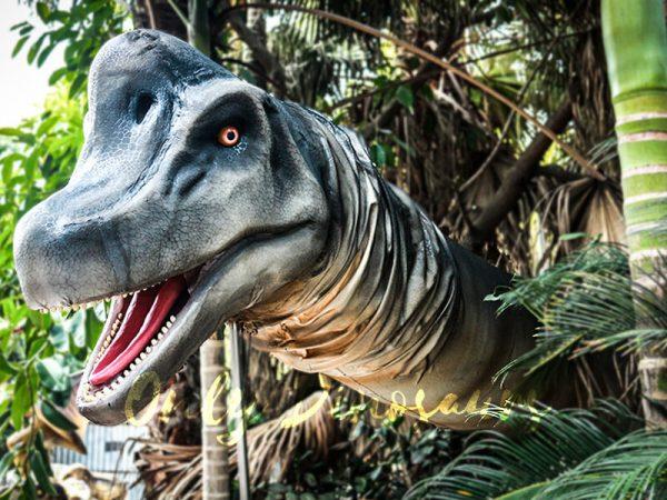 Realistic Brachiosaurus Dinosaur Head Prop2