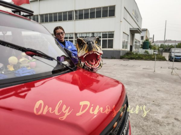 Realistic Child Dinosaur Ride On Costume5
