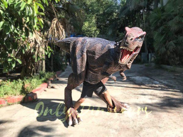 Realistic Dinosaurs TV Show T rex Costume1