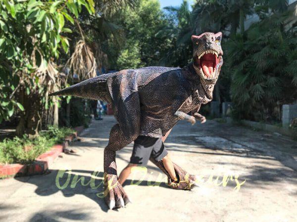 Realistic Dinosaurs TV Show T rex Costume2