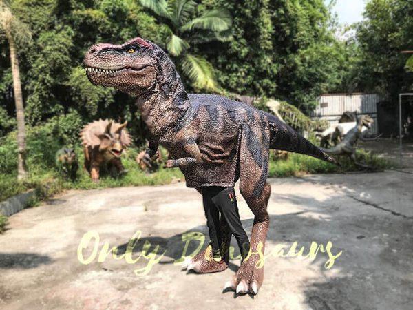 Realistic Dinosaurs TV Show T rex Costume3