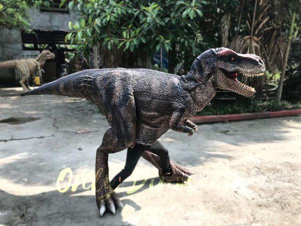 Realistic Dinosaurs TV Show T rex Costume4
