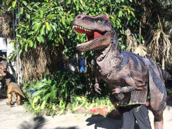Realistic Dinosaurs TV Show T rex Costume5