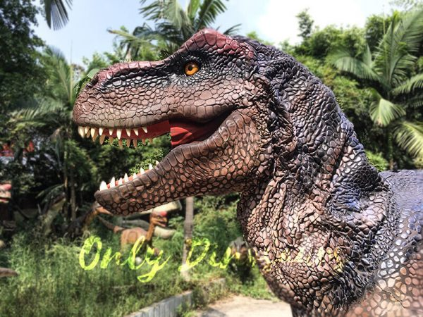 Realistic Dinosaurs TV Show T rex Costume8
