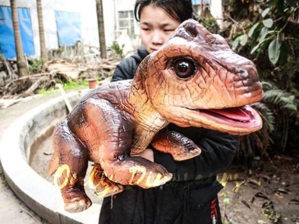 Realistic Puppets Dinosaur Puppet of Baby Brachiosaurus1
