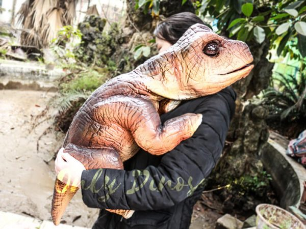 Realistic Puppets Dinosaur Puppet of Baby Brachiosaurus3