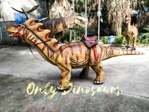 Ride an Amargasaurus Dinosaur coin-operated