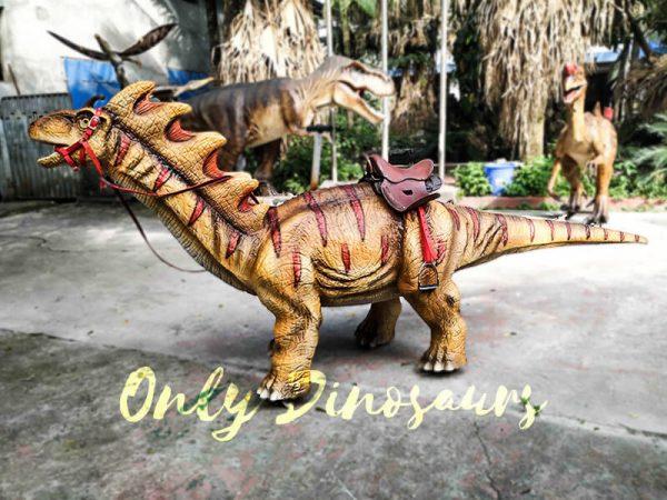 Ride an Amargasaurus Dinosaur coin operated2