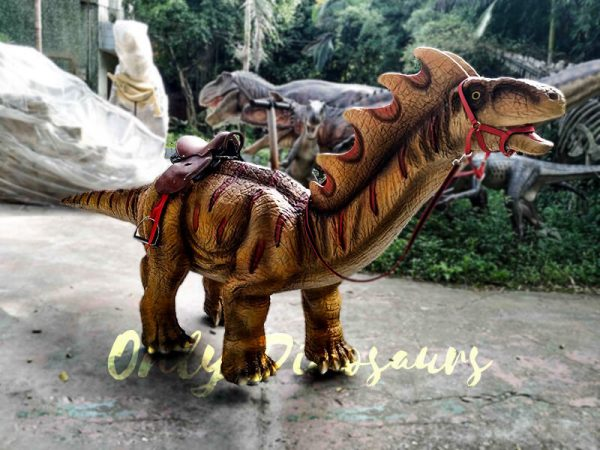 Ride an Amargasaurus Dinosaur coin operated3