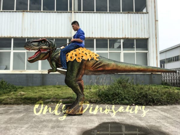 T rex Dinosaur Rider Costume on Stilts3