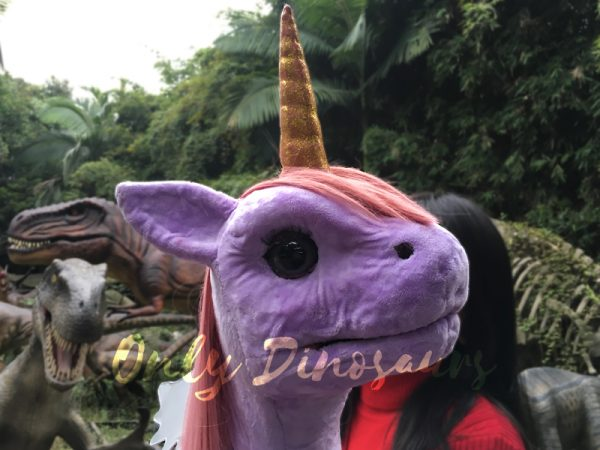 Unicorn-Animal-Puppet-Lovely-Pink