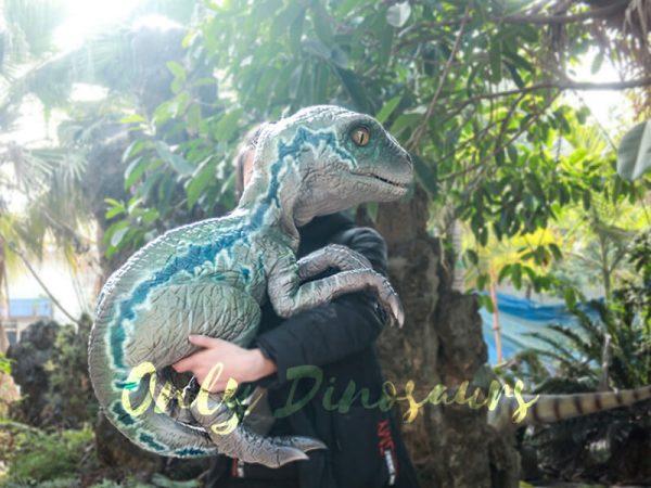 Velociraptor Baby Hand Puppet Lifelike Puppet1
