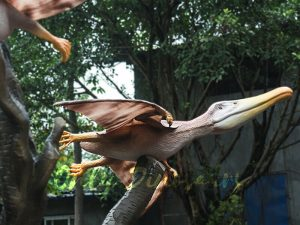 Vivid Mated Animatronic Pterosaur for Display