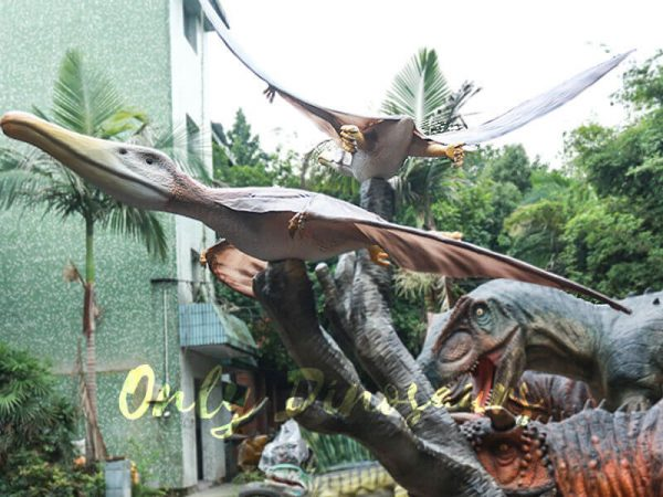 Vivid Mated Animatronic Pterosaur for Display3