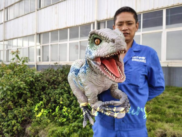 Custom-Raptor-Hand-Puppet-for-Party3
